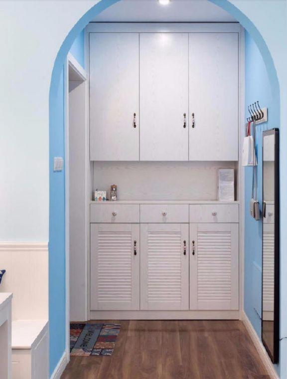 80平东城美居两室一厅美式装修效果图