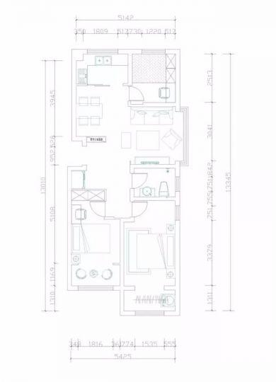 2019田园110平米装修图片 2019田园三居室装修设计图片
