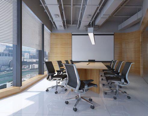 光子科技公司245平米公装效果图