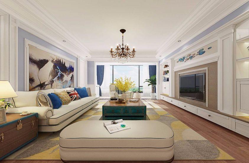 180平米四室两厅法式田园风格装修效果图