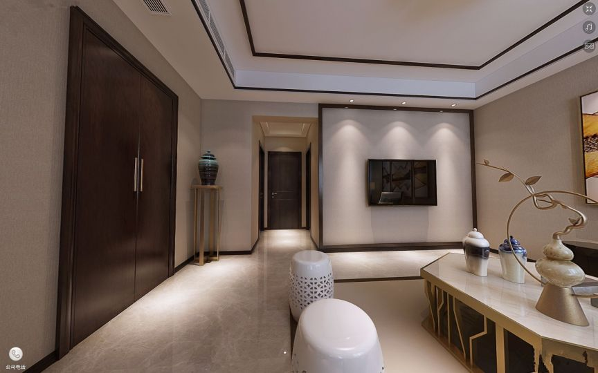 2019简约100平米图片 2019简约三居室装修设计图片