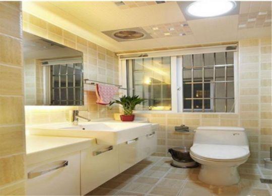 浴室洗漱台简约风格装修效果图