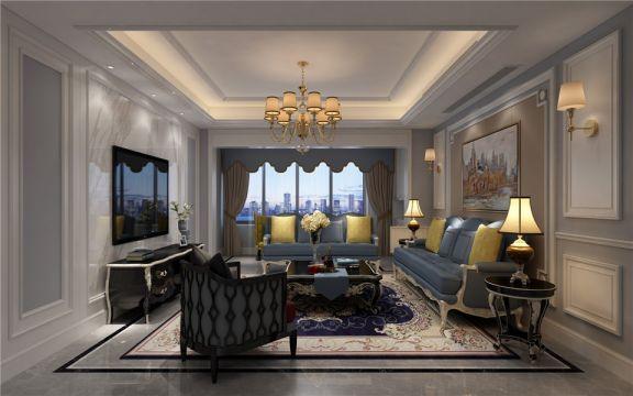 客厅沙发欧式风格装修效果图