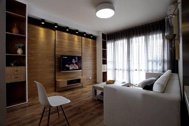 北欧风格98平米小户型室内装修效果图