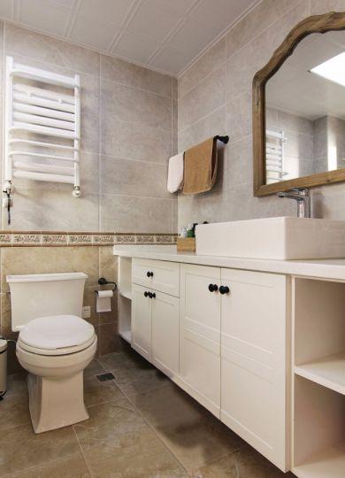 卫生间地砖美式风格装饰效果图