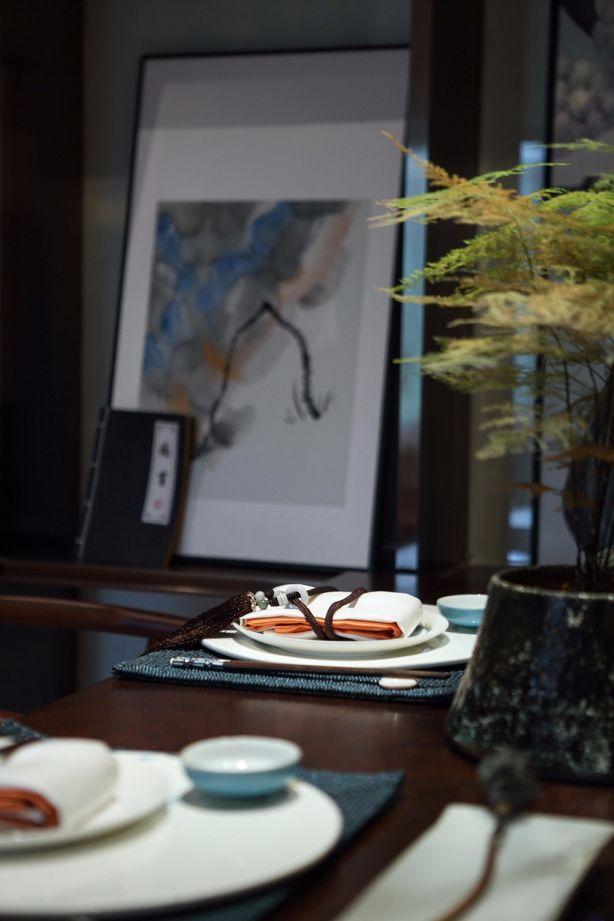 餐厅餐桌东南亚风格装饰效果图