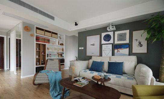 华润凤凰城97平三居室简约风格装修效果图