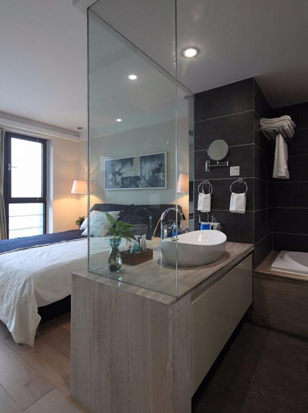 卫生间洗漱台混搭风格装饰设计图片