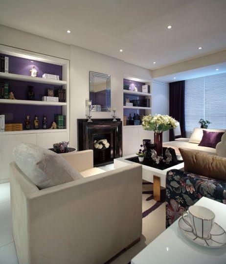 尚城国际109平现代简约风格三居室装修效果图