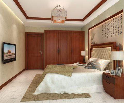卧室衣柜中式风格装潢图片