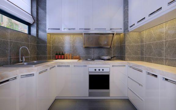 2018北欧厨房装修图 2018北欧橱柜装修效果图片
