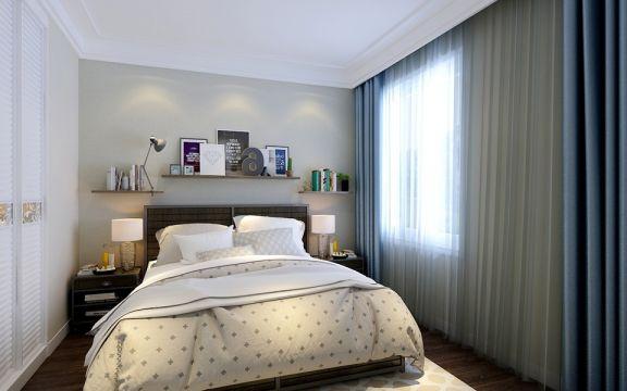 2018北欧卧室装修设计图片 2018北欧床装修效果图片