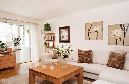 2020简约客厅装修设计 2020简约沙发装修图