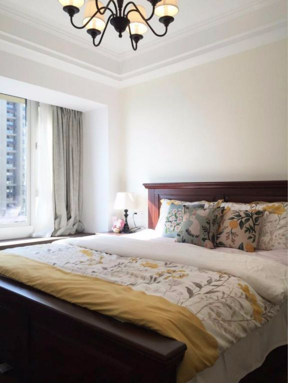 2019美式100平米图片 2019美式二居室装修设计