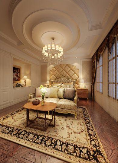朴素温馨卧室床室内装修图片