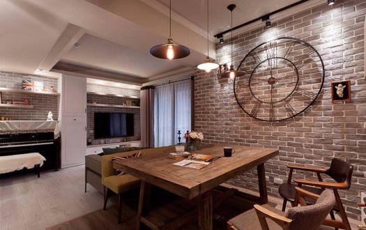 融创春晖十里美式95平二居室装修效果图