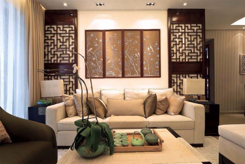 2019新古典90平米装饰设计 2019新古典三居室装修设计图片