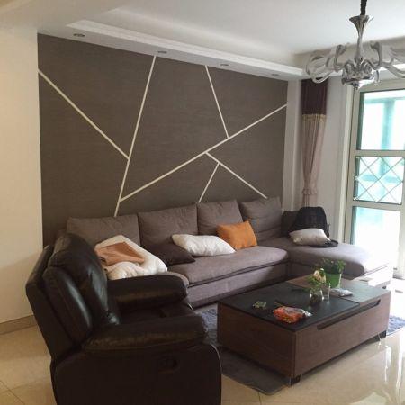 盛世名门141平米现代简约风格三居室装修效果图