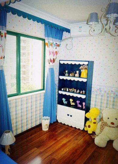 儿童房飘窗地中海风格装饰图片
