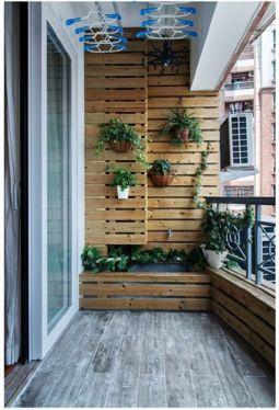 阳台地板砖美式风格装潢图片