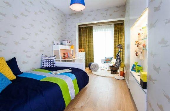 儿童房床北欧风格装修效果图