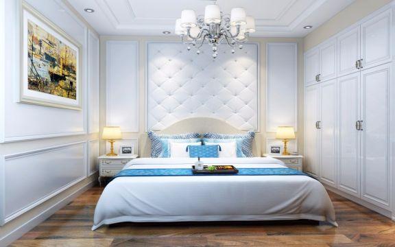 卧室吊顶简欧风格装修图片