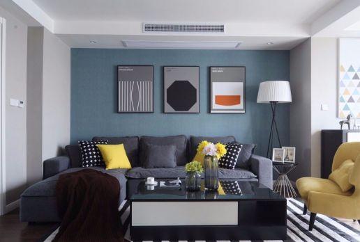 158平米混搭风格三居室装修效果图