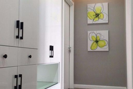 玄关门厅混搭风格装饰效果图