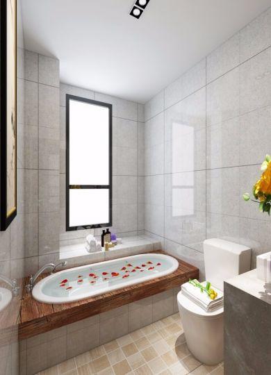 卫生间地砖中式风格装饰效果图