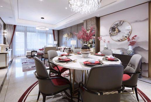餐厅细节新中式风格装修设计图片