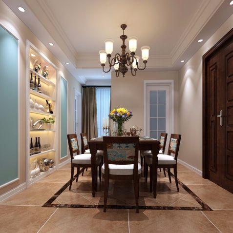 美式风格170平米套房室内装修效果图