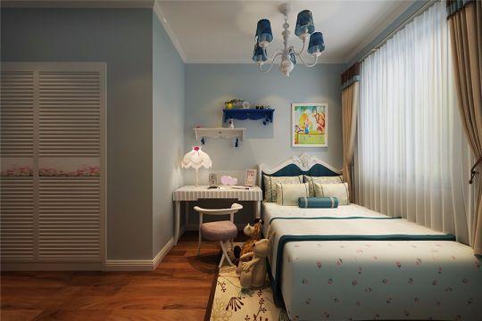 信地华地城86平现代风格三居室装修效果图
