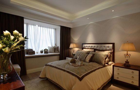 97平米美式风格二居室装修效果图