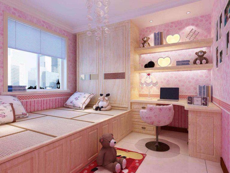 儿童房榻榻米美式风格装潢设计图片