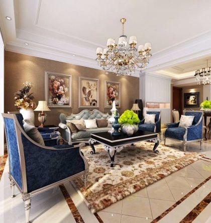 2019欧式客厅装修设计 2019欧式沙发装修图