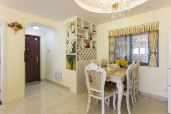 餐厅白色走廊欧式风格装修效果图