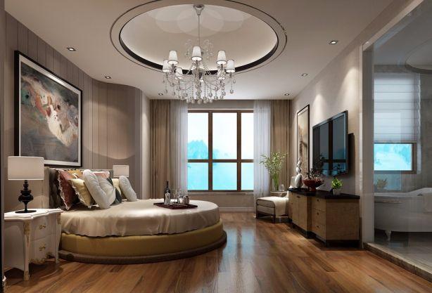 新田城别墅7室4厅现代风格装修效果图