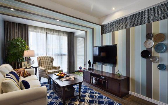 2018美式90平米装饰设计 2018美式二居室装修设计