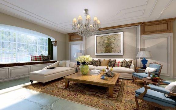 富丽灰色商品房客厅设计图片