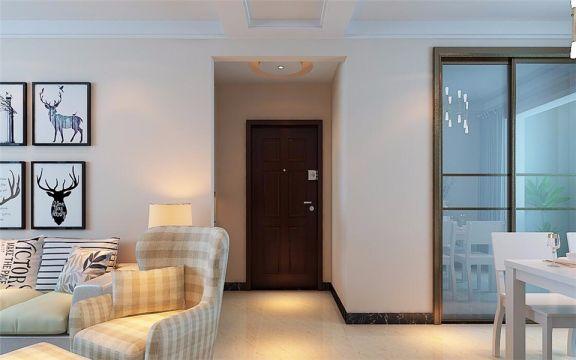 玄关门厅现代简约风格装饰图片