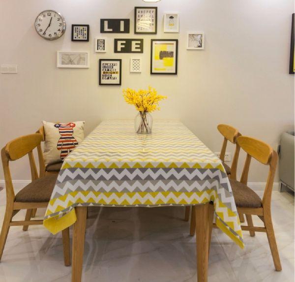 餐厅餐桌北欧风格装饰设计图片
