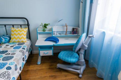 卧室书桌北欧风格效果图