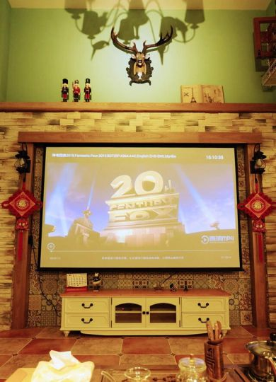 美式客厅电视柜装修