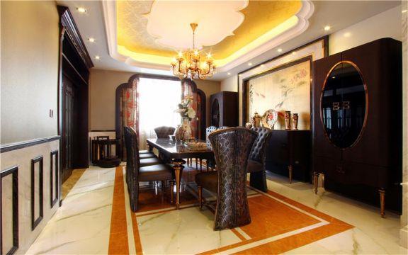 东南亚风格120平米小两室新房装修效果图