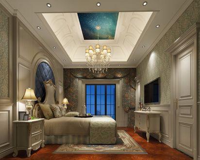 2021欧式卧室装修设计图片 2021欧式吊顶效果图