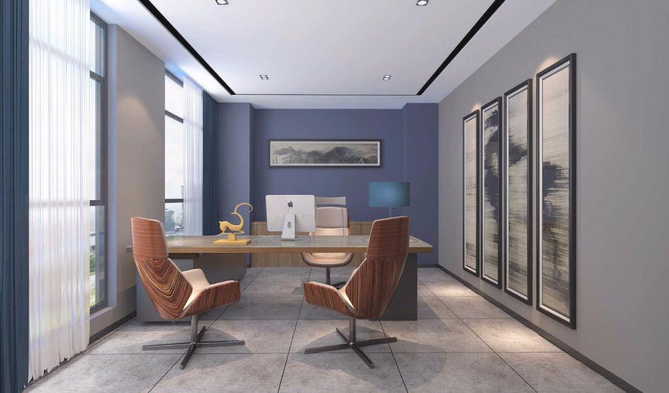技术公司办公室装修设计案例