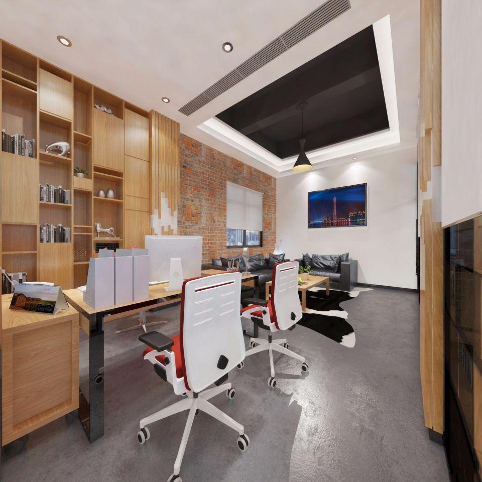 loft办公室装修设计案例