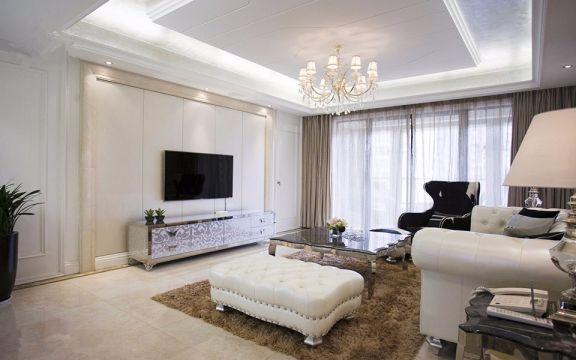 凤凰和熙新古典风格90平方三居室装修效果图