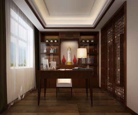 庄重书房室内装修设计