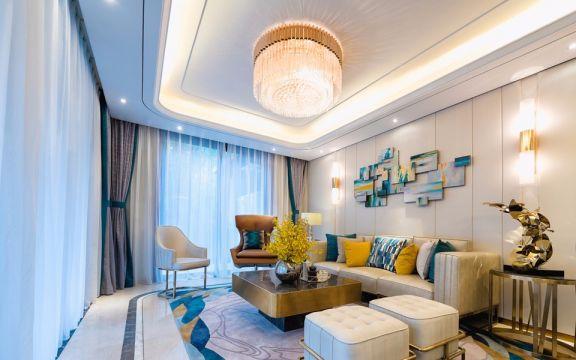 现代风格68平米两室两厅新房装修效果图